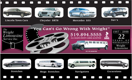 The Wright Limousine Service Inc. - 519-894-5555 -