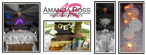 Amanda Ross Weddings and Events - Specializing in Decorating and Event Planning for all Weddings and other Special Events - Click here to visit our website!