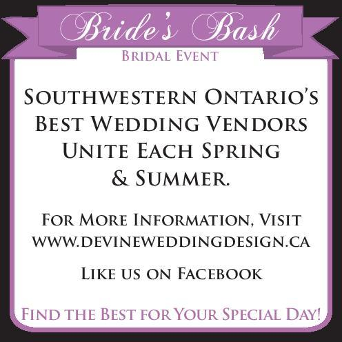 Bride's Bash Bridal Event - Click here to visit our website!
