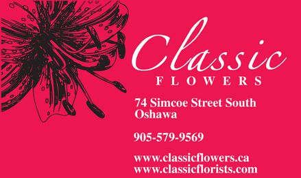 Classic Flowers - Click here to visit our website!