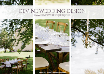 Devine Wedding Design and Event Planning - 519-348-4191 - Click here to visit our website!