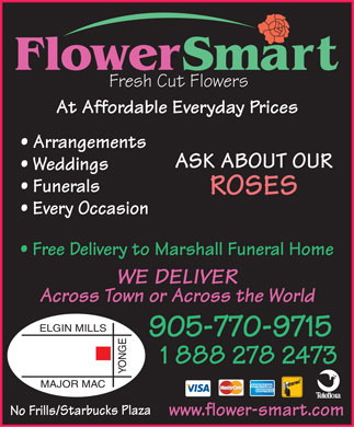 FlowerSmart  - 10520 Yonge St, Richmond Hill - 905-770-9715 - Click Here to visit our website!