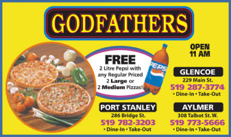 Godfather's Pizza - Hot, Fressh and Delicious Pizza for your Party or Event - Click here to visit our website!