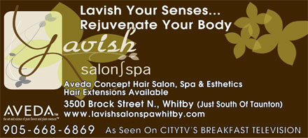 Lavish Salon and Spa - Click here to visit our website!