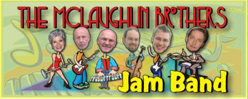 The McLaughlin Brothers Jam Band - A popular, experienced DANCE band available for your wedding, social event, charity event, or private party in the South-Central Ontario area. Click here to visit our website to learn more