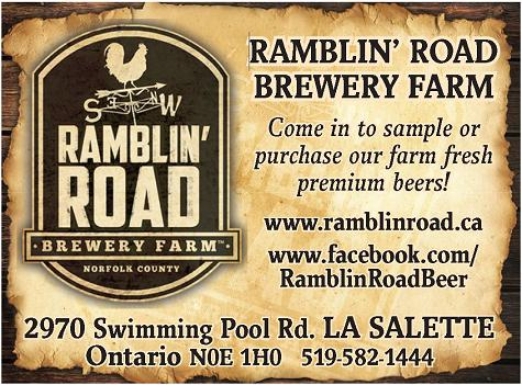 Ramblin' Road Brewery Farm - Click here for our website!