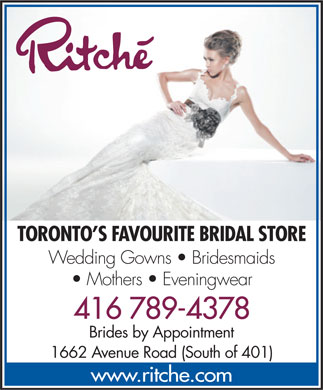 Ritche' Bridal - Click here to visit our website!