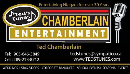 Ted's Tunes DJ Service / Chamberlain Entertainment - Click here to visit our website!