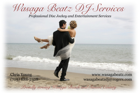 Wasaga Beatz DJ Services - 705-888-2328 -                                      Click here to visit our website!
