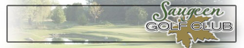 The Saugeen Golf Club - Click here to visit our website!
