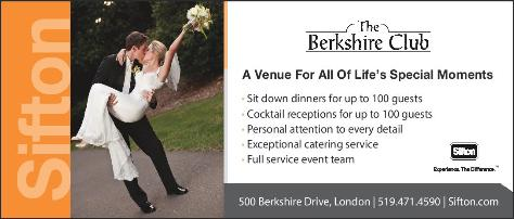The Berkshire Club a venue for all of life's special moments. Planning a special event? We are here to help with the details of your memorable occasion call for details today.  Click here to visit our website!