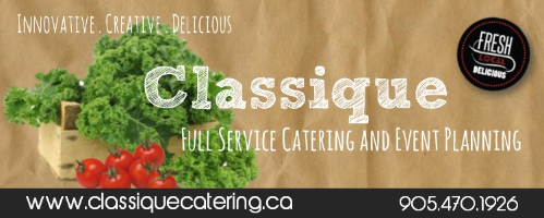 Classique Catering - Click here to visit our website!