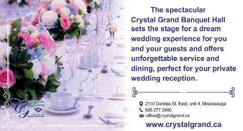 The Crystal Grand Ballroom - Click here to visit our website!