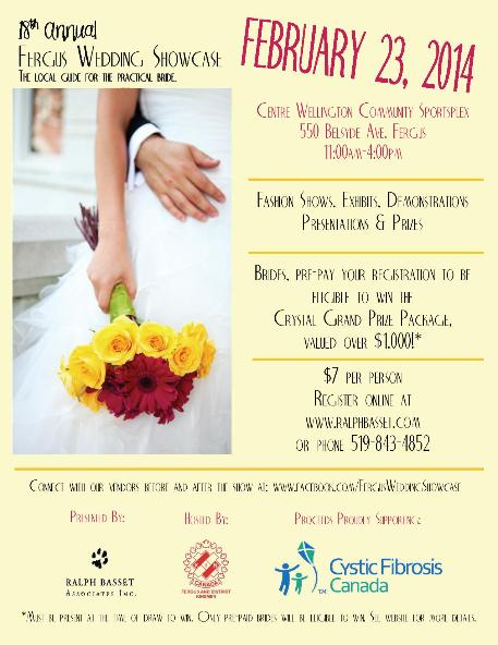 Fergus Wedding Showcase - Brides and Vendors here to visit our website.