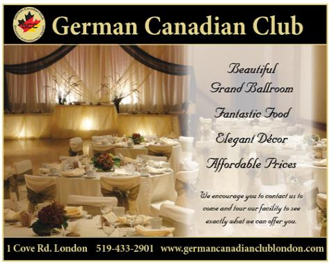 German Canadian  Club London - Click here to visit our website!
