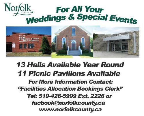 Norfolk County Halls and Pavillions - Click here to visit our website!