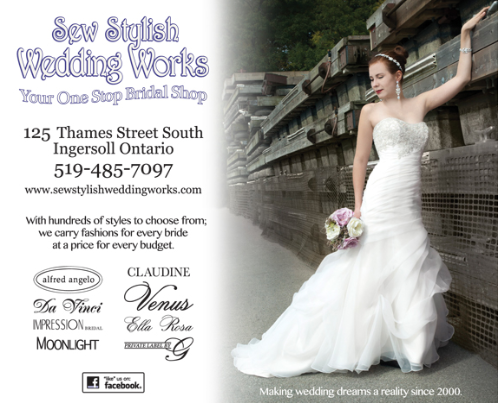 Sew Stylish Wedding Works - Click here to visit our website!