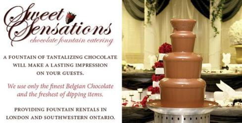 Sweet Sensations Chocolate Fountain Catering - Click here to visit our website!