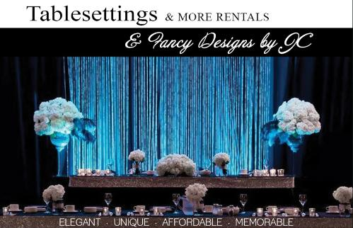 Tablesettings and More Rentals - Click here to visit our website!