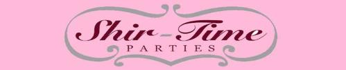 Shir-Time Parties - Wedding and Party Supplies - 1-866-524-5167 - Click here to visit our website!